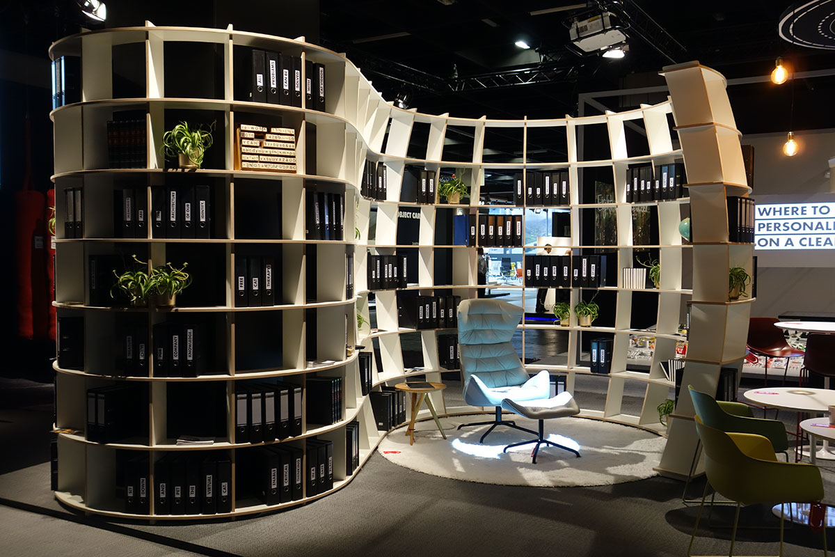 """""""RE/WORK – Moments of Inspiration by Ippolito Fleitz Group"""" auf der Orgatec 2016"""
